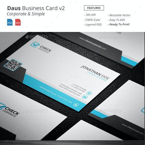 Daus - Corporate Business Card v2