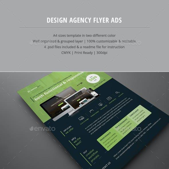 Design Agency Flyer Ads