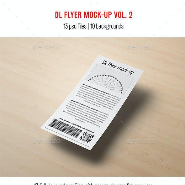 DL Flyer Mock-Up vol. 2