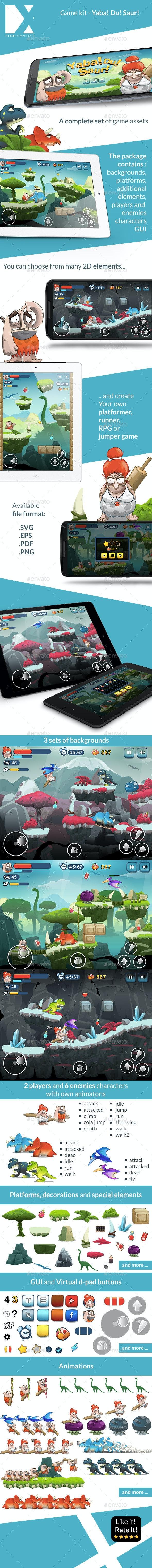 YabaDuSaur - Game Kit - Game Kits Game Assets