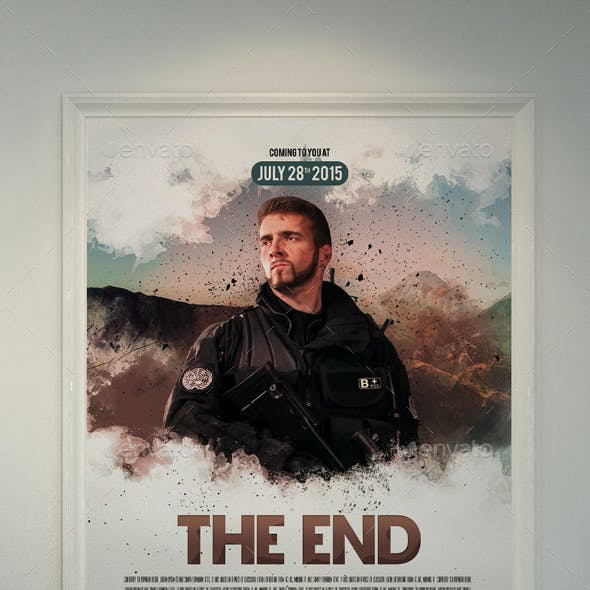 The End Movie Poster/Flyer II
