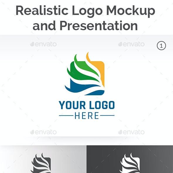 Realistic Logo Mockup Pack