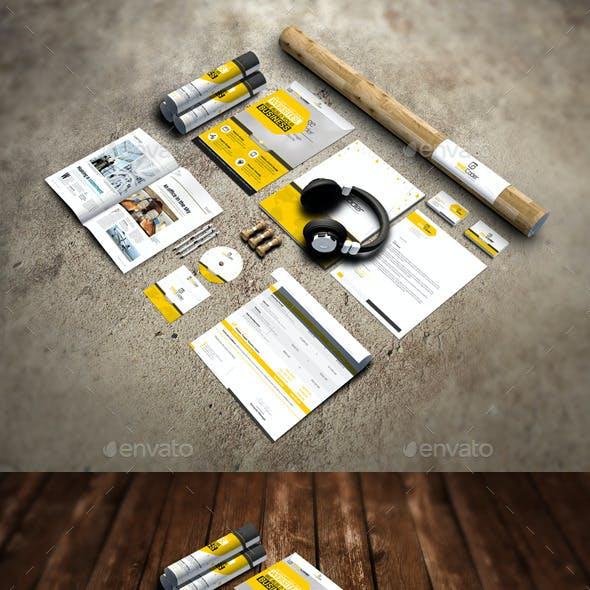 Branding Stationery Mock-Up
