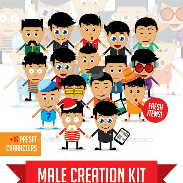 Male Character Kit