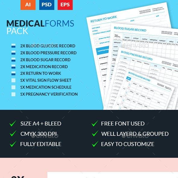 Medical Forms Pack