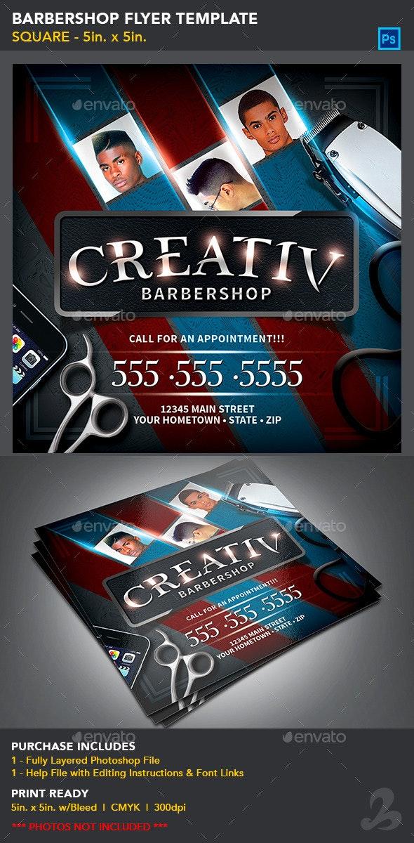 Barbershop Flyer Template - Commerce Flyers