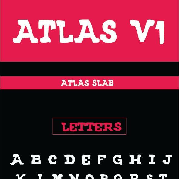 ATLAS FONT V1