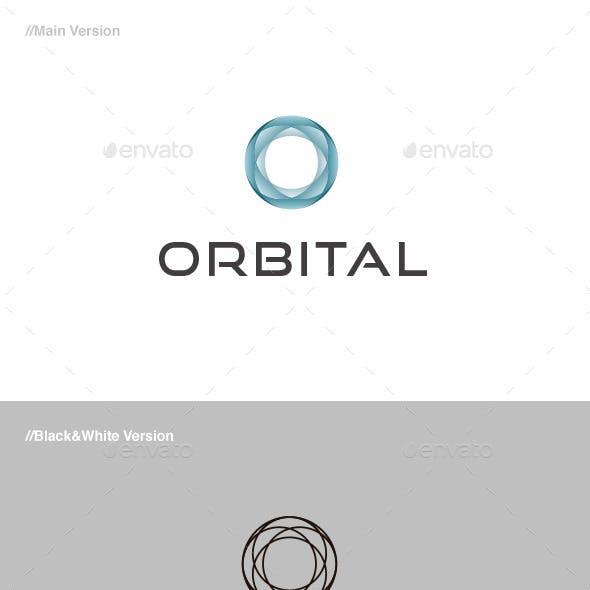 Orbital Abstract Logo
