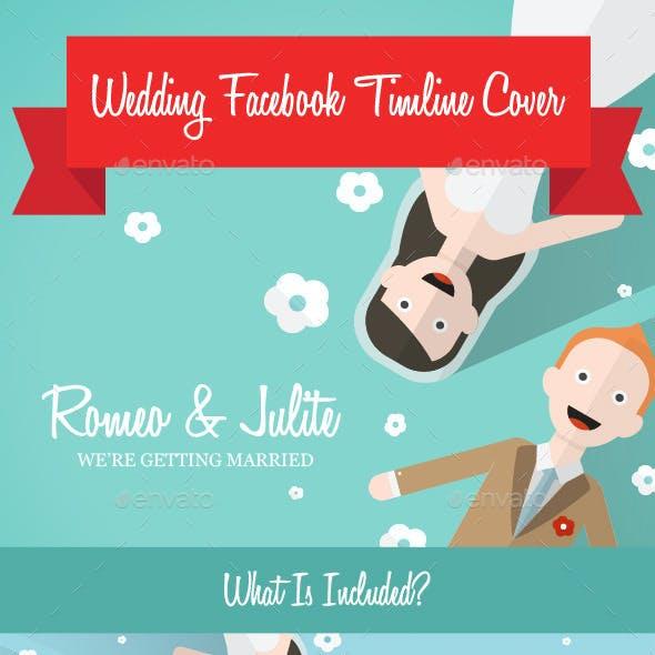 Cute Wedding Facebook Timeline Cover