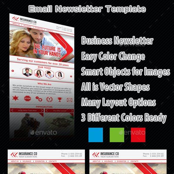 Multipurpose Email Newsletter Template v1