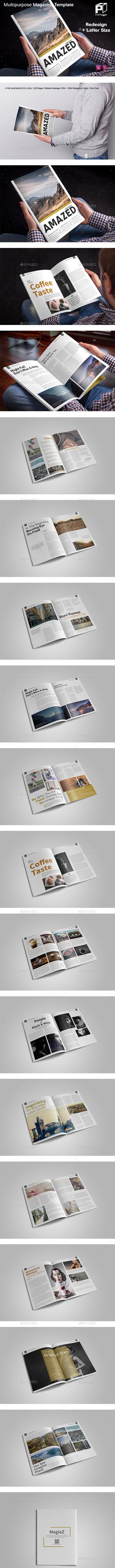 Multipurpose Magazine Vol.3 - Magazines Print Templates