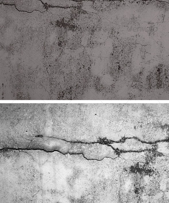 Cracked Concrete 1 - Concrete Textures