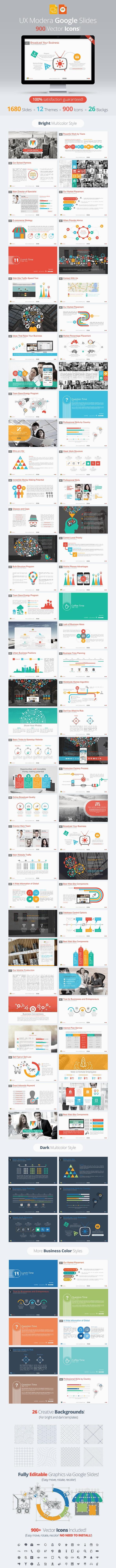 Modera Google Slides Presentation Template - Google Slides Presentation Templates