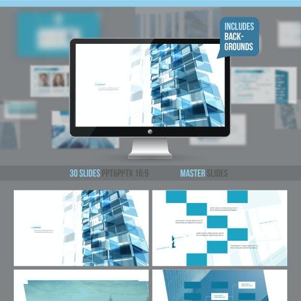 Construction professional presentation
