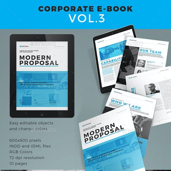 Corporate E-book Template Vol.3