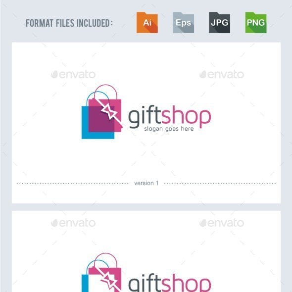 Gift Shop - Logo Template