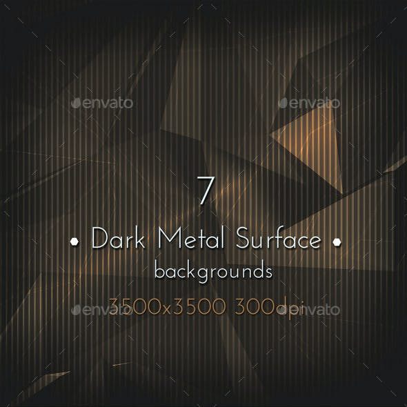 Dark Metal Game Background