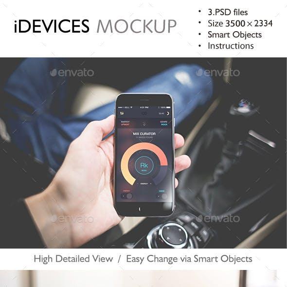 iDevices Mockup v.2