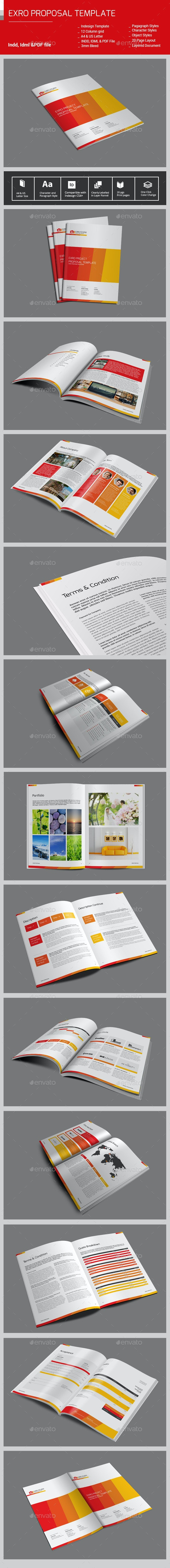 Exro ProposalTemplate - Proposals & Invoices Stationery