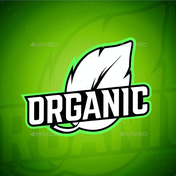Organic Template of Logo and Design Elements