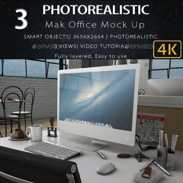 3D iMak Office mock