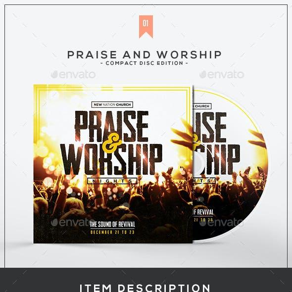 Praise & Worship - CD Album Template