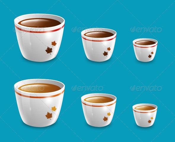Coffee Cup - Objects Illustrations