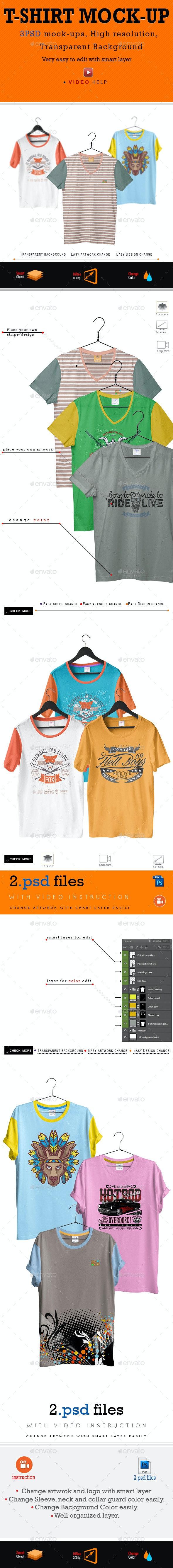 T-Shirt Mock_Up - T-shirts Apparel