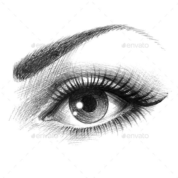 Eye of a Woman