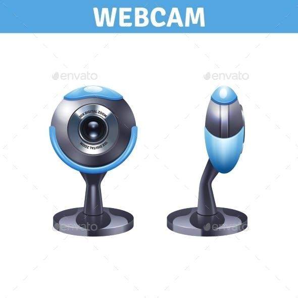 Webcam Realistic Design