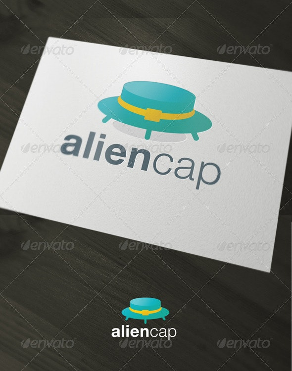 AlienCap - Objects Logo Templates