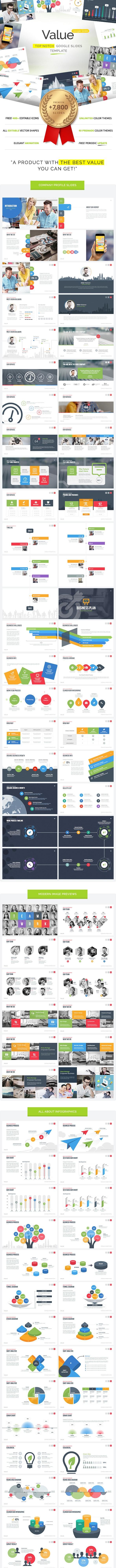 Value - Google Slides Template - Google Slides Presentation Templates