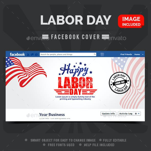 Labor Day Sale Facebook Cover
