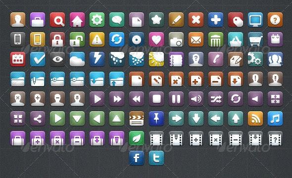 100 Web Icons - Web Icons