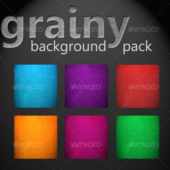 Grainy Background Pack - Backgrounds Graphics