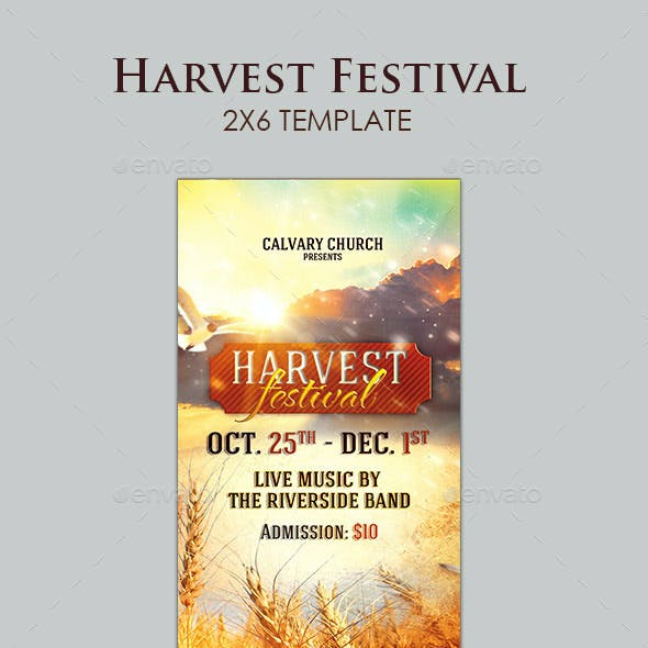 Harvest Festival Ticket