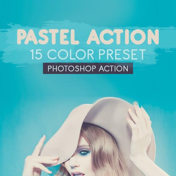 15 Pastel Presets Photoshop Action