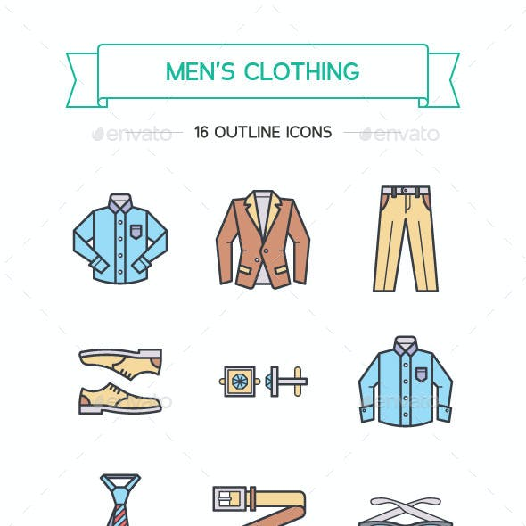 Men's Business Clothing and Attributes