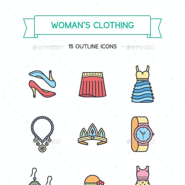 Woman's Clothing and Attributes