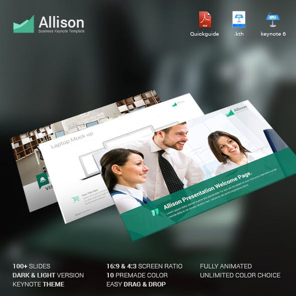 Allison - Creative Keynote Template