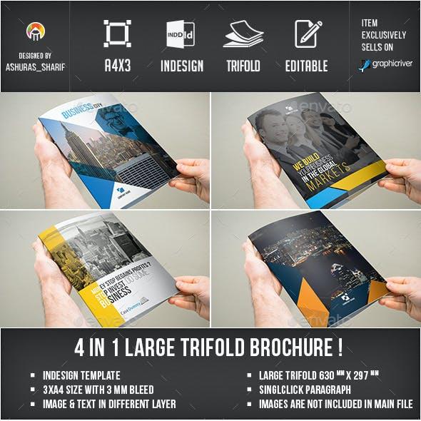3xA4 Brochure Bundle