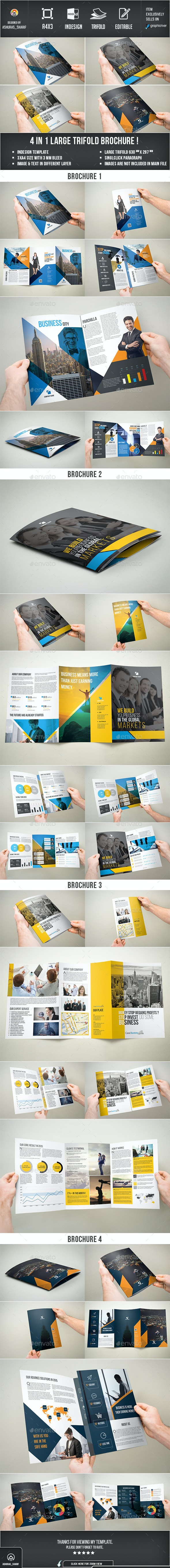 3xA4 Brochure Bundle - Corporate Brochures
