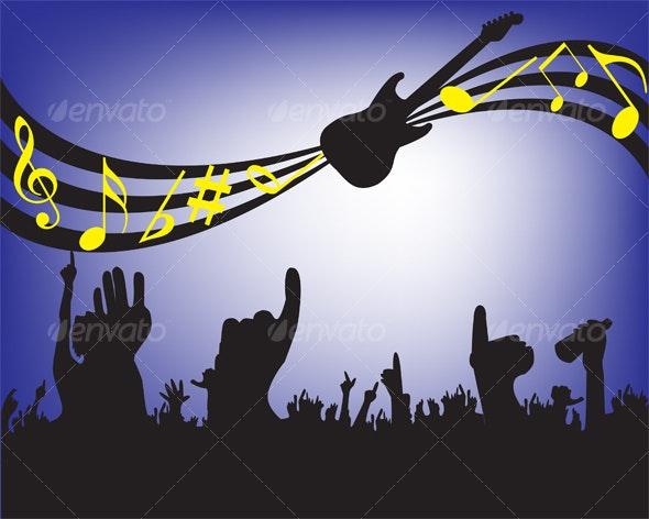 concert background - Backgrounds Decorative