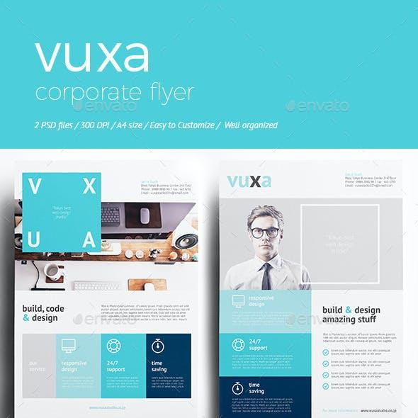 Vuxa - Corporate Flyer