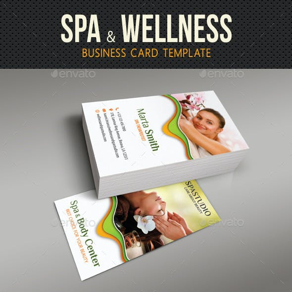 Spa And Beauty Business Card 07