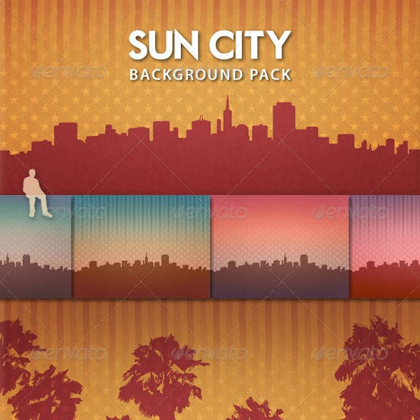 Sun City Background Pack