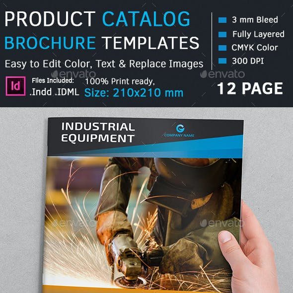 Product Catalog Square Brochure