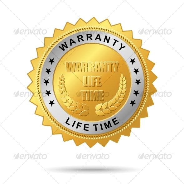 Guaranty quality golden label - Decorative Symbols Decorative