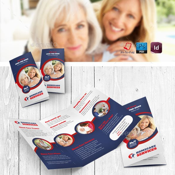 Home Care Tri-Fold Templates