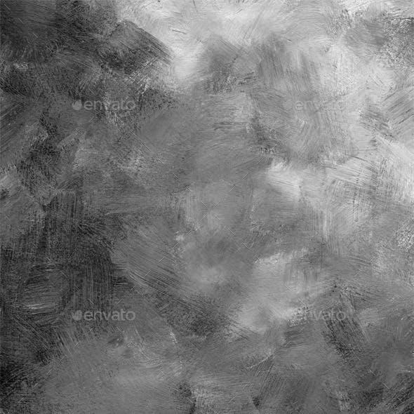 Acrylic brush strokes texture